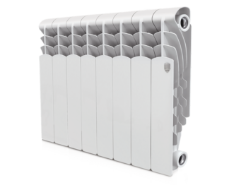 Радиатор алюминиевый Royal Thermo Revolution 350 - 8 секц.